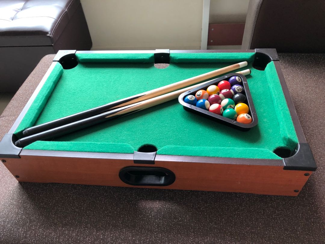 Almost Brand New Pool Table Toys Games Others On Carousell - Brand new pool table