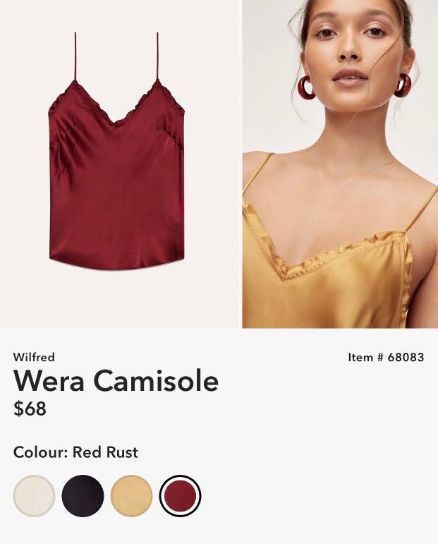 2b154be462346 Aritzia Wilfred Wera camisole