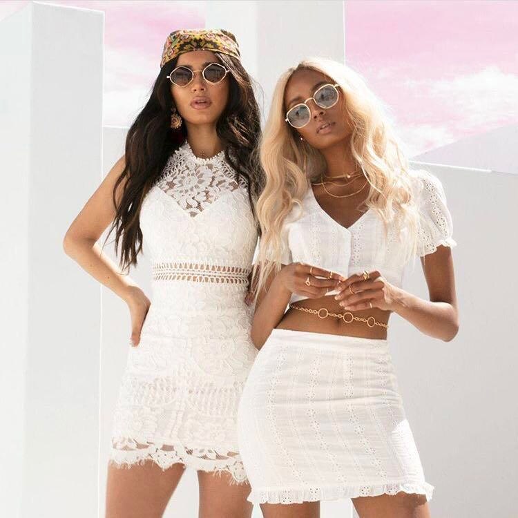 2e8adf83f9a authentic bnwt broderie fashion nova floral eyelet white two piece ...