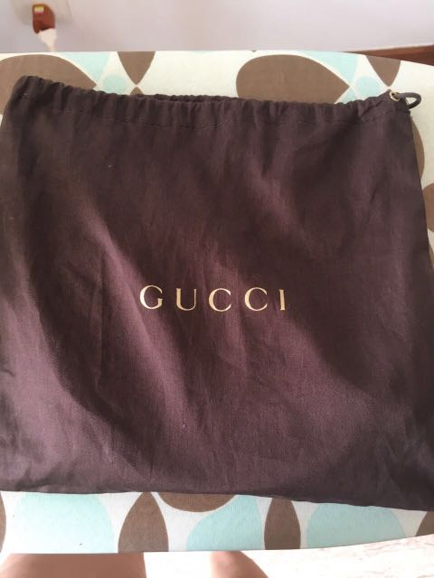 52947c8cb Authentic Gucci dust bag, Luxury, Accessories, Others on Carousell