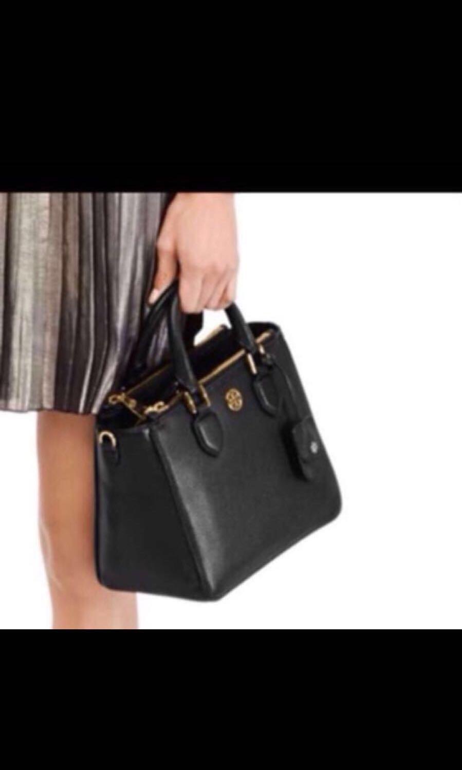 2cfd97286a8 Authentic Robinson Pebbled Mini Square Tote Bag