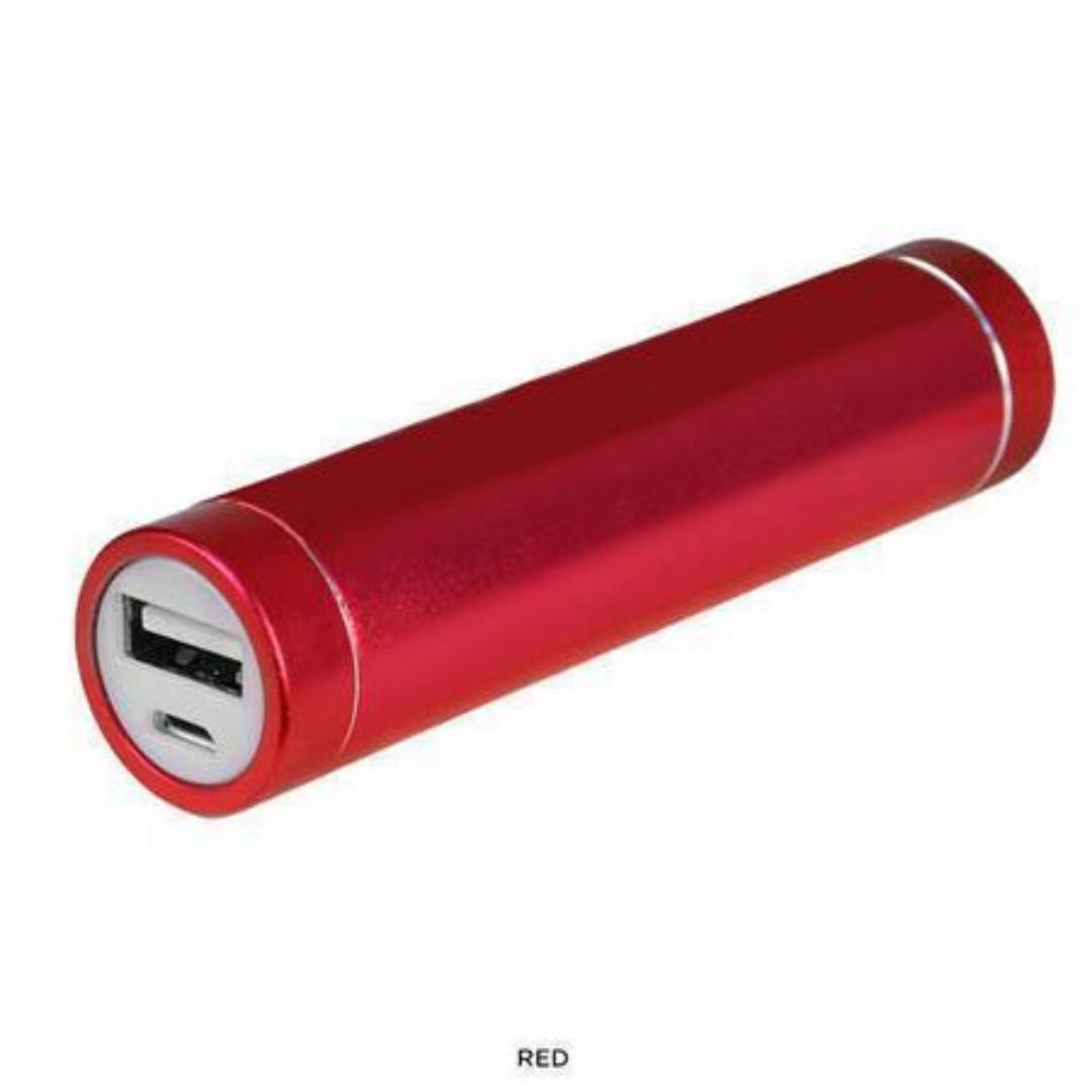 Battery Charger for Mobile Devices - Red