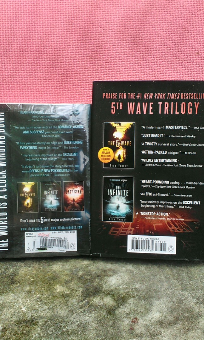 Book 2 and Book 3 of 5th Wave