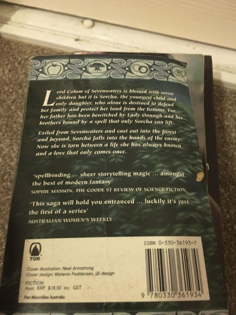 Book bundle (daughter of the forest, the trespass and enemies of the heart)