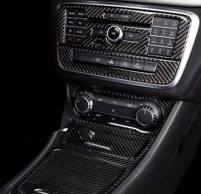 Cla Gla A Cf Center Console Panels Car Accessories Accessories On