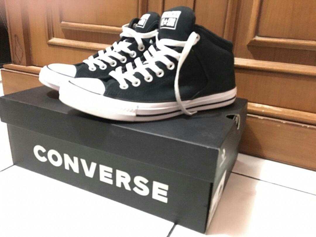 bb150de32367 Converse Ctas High Street Hi Black