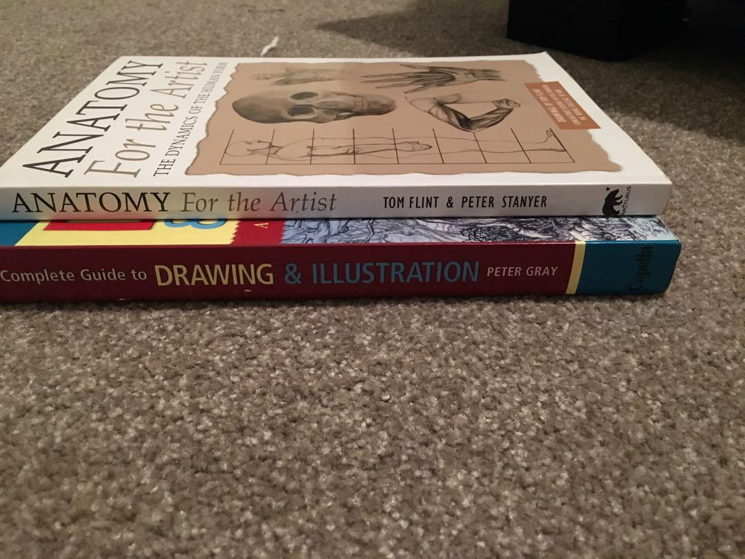 Drawing aid art books