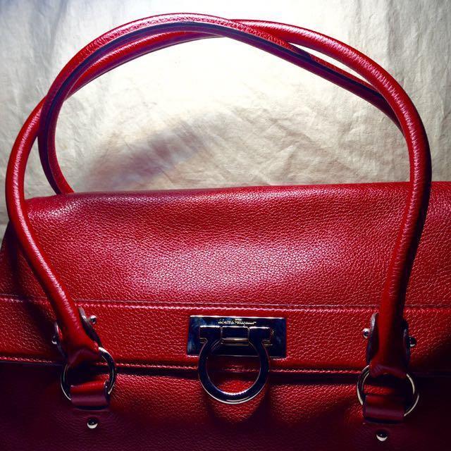 0a0360a9fa ️FINAL SALE PRICE‼️Preloved Authentic Salvatore Ferragamo Leather ...