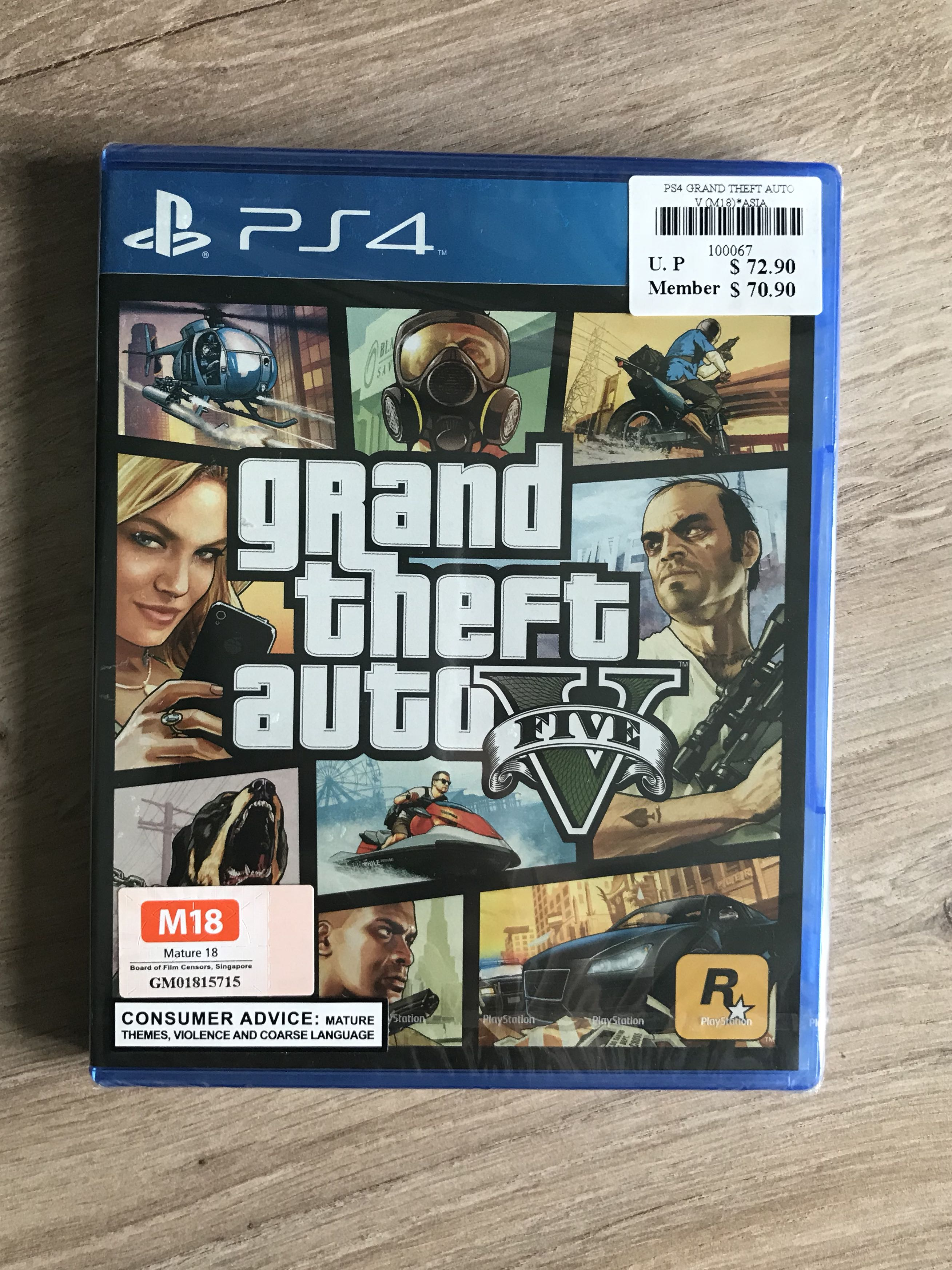 5157a863078 Grand Theft Auto 5 (PS4), Toys & Games, Video Gaming, Video Games on  Carousell