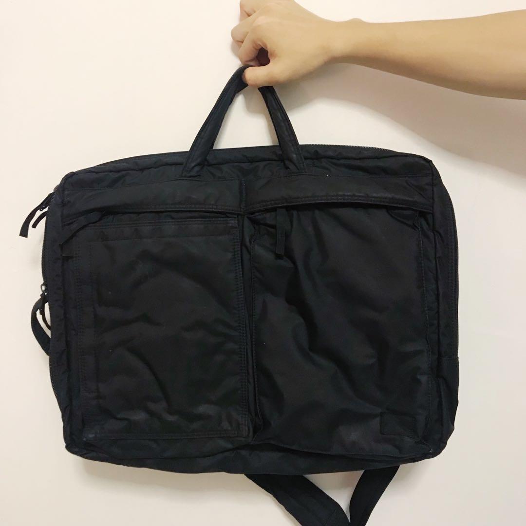 59738575d0 Head Porter Black Beauty 3-Way Briefcase   Backpack   Sling Bag ...
