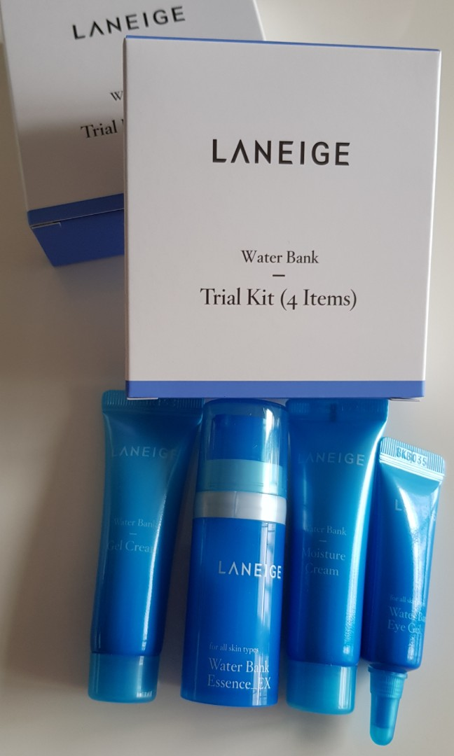 Laneige Water Bank Trial Kit 4 items, Health & Beauty, Face & Skin Care on Carousell