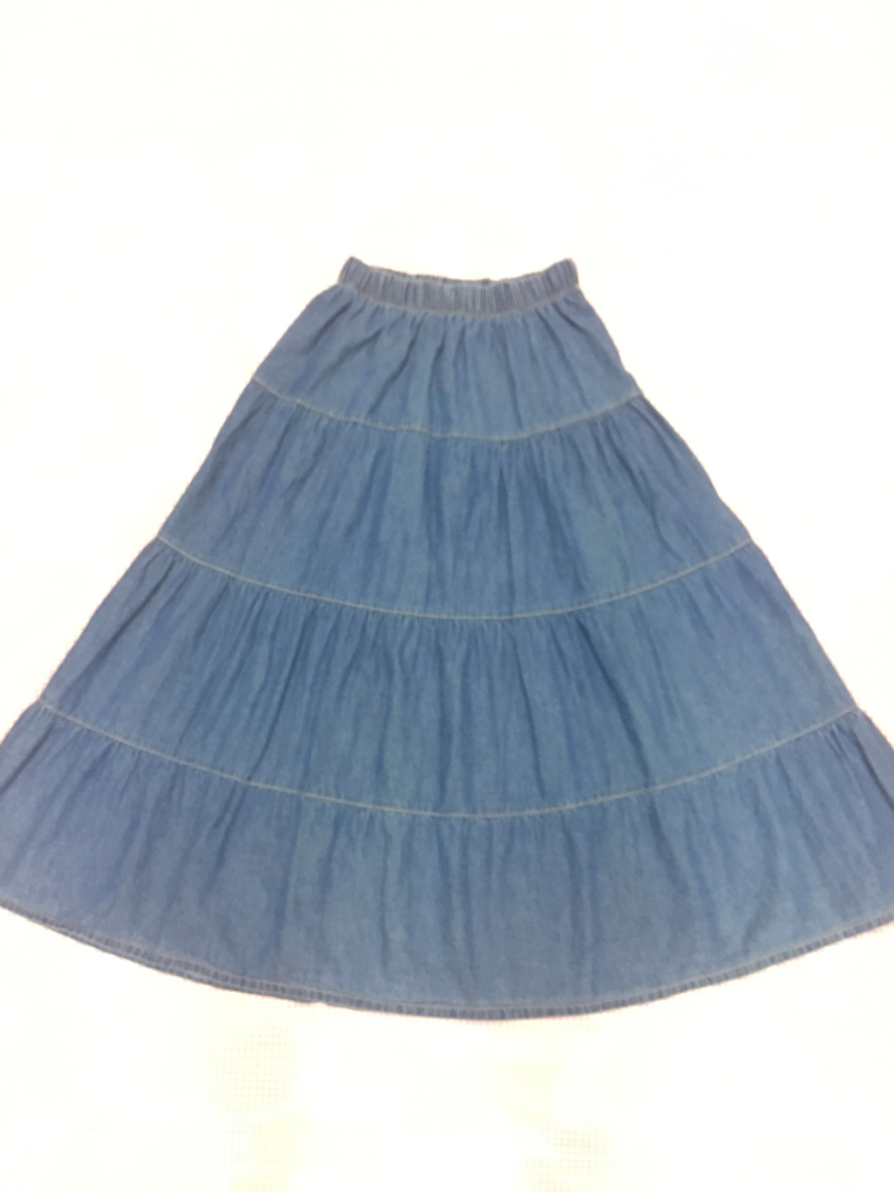 a0f5a7257a Where To Buy Long Blue Jean Skirts – DACC