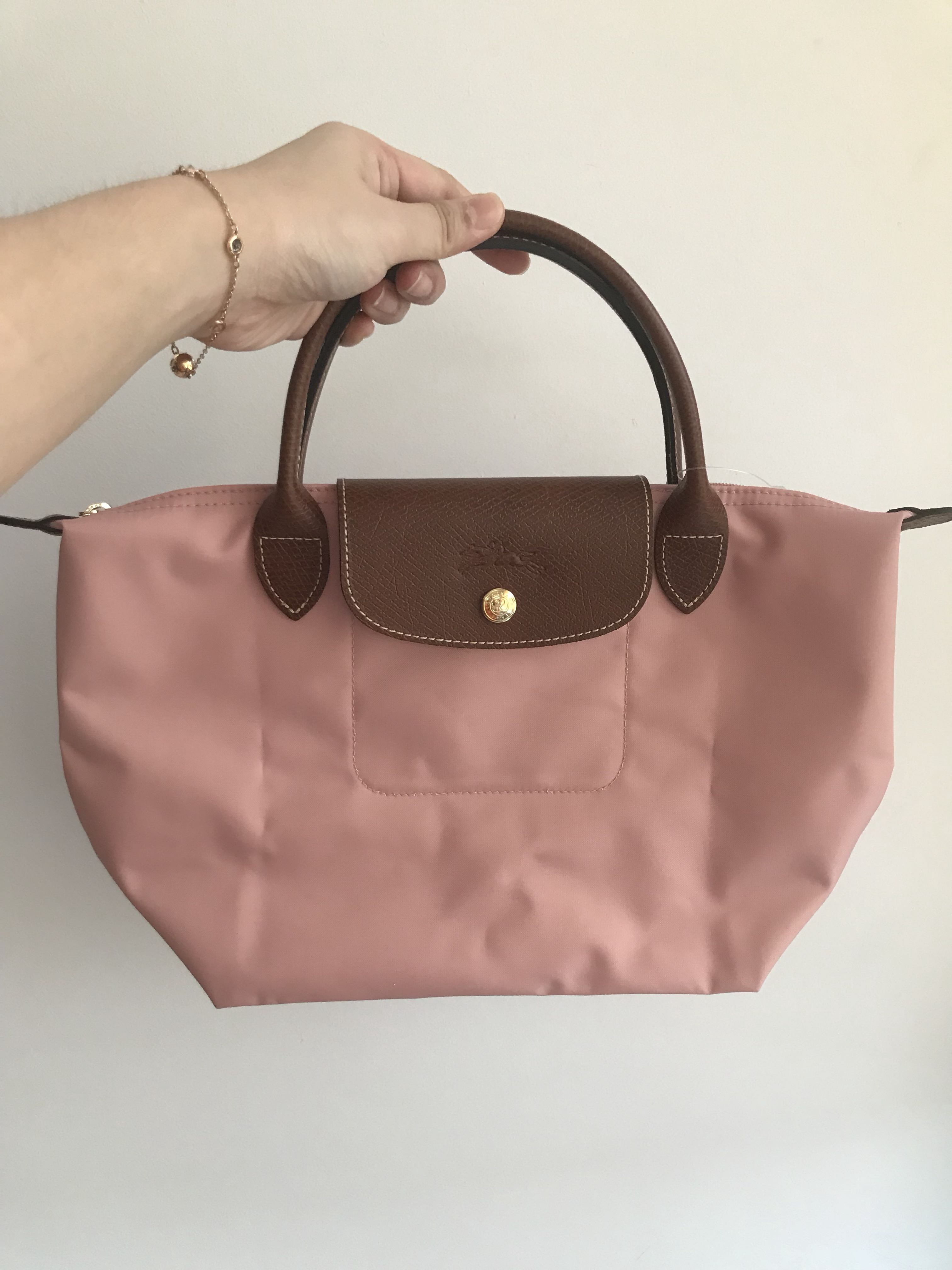 842e468c4d8 Longchamp Pink Le Pliage Small