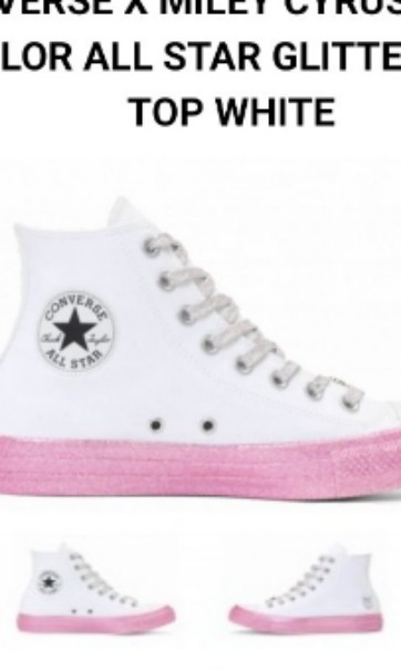 bfe9704944f8 Miley Cyrus Converse shoes