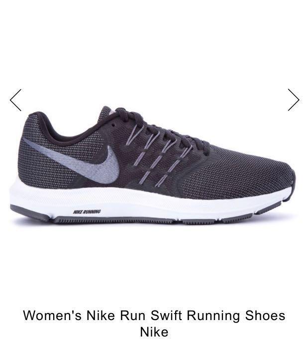 32483581411b6 Nike Run Swift Black and Dark Grey