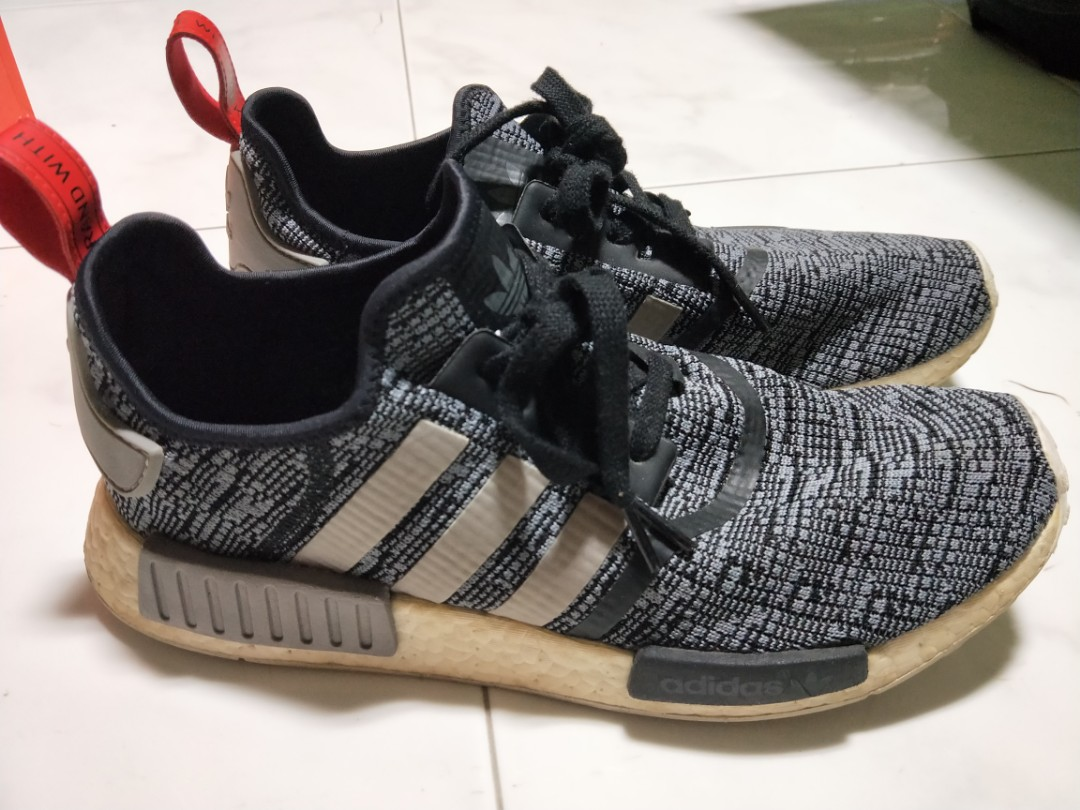 876900cc2 NMD R1 Glitch Camo Core Black
