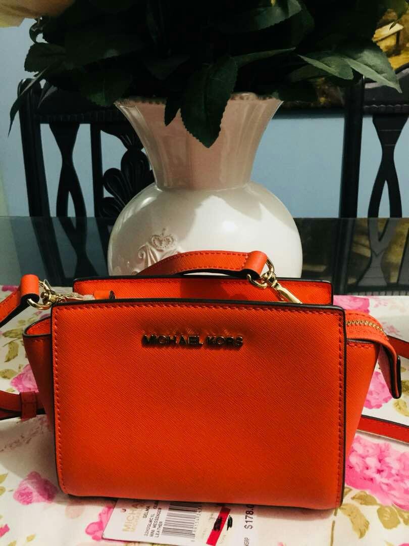 41598d89eb6f NWT MK Mini Selma bought   Macy s