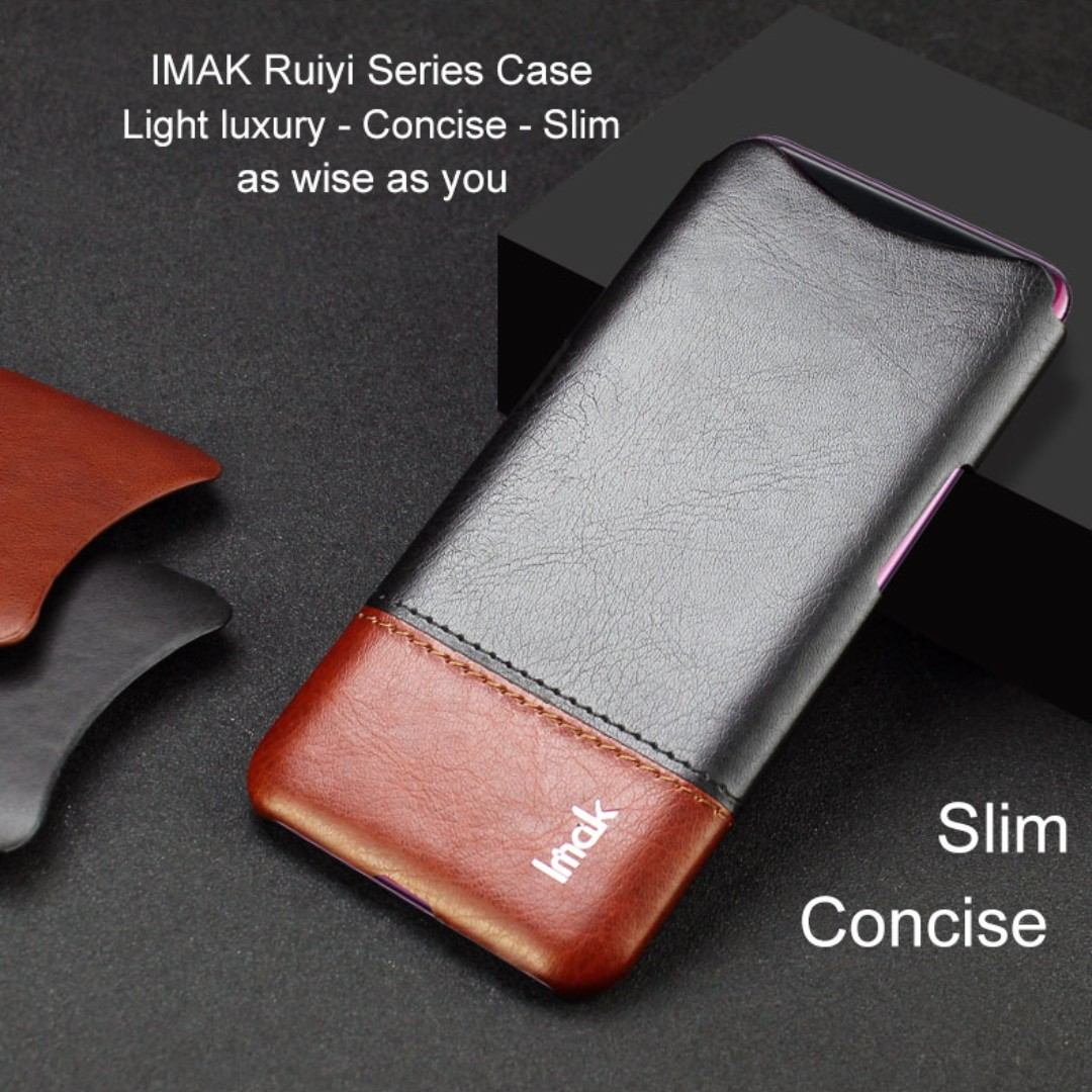 promo code 56bd0 860ac Oppo Find X Leather Case Casing Luxury Cover