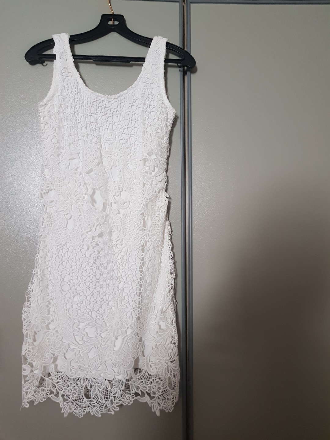 White Dress Size 28