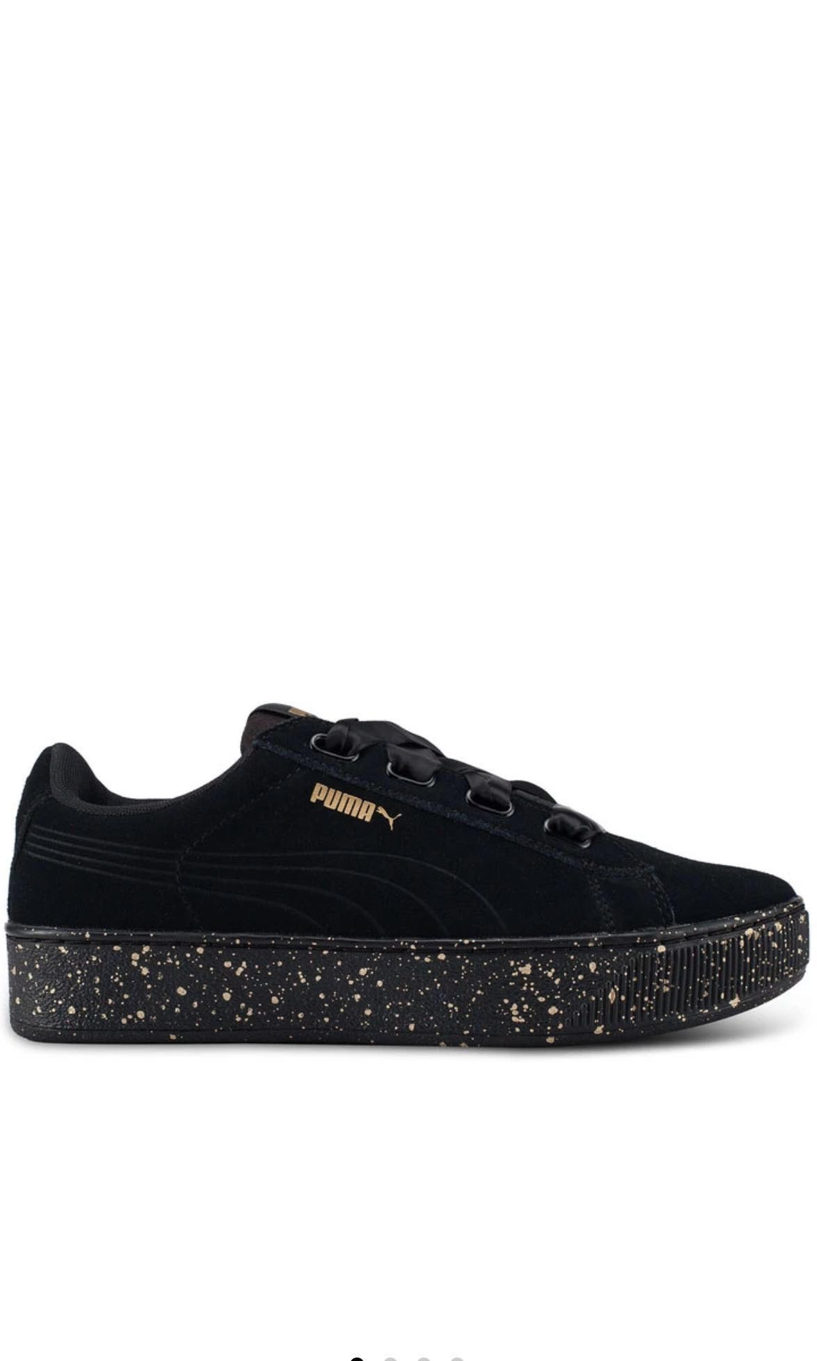 62cf57c9bdc PUMA VIKKY PLATFORM RIBBON DOTS SHOES