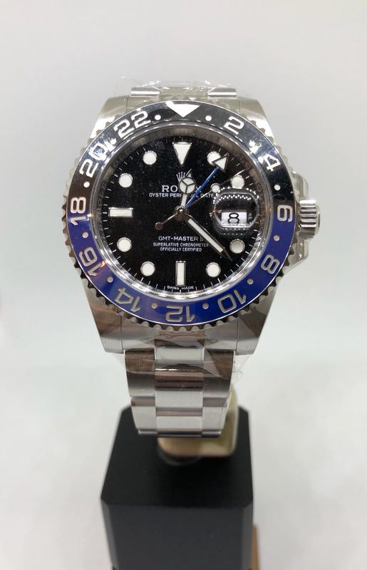 Rolex Gmt Master Ii Batman Luxury Watches On Carousell