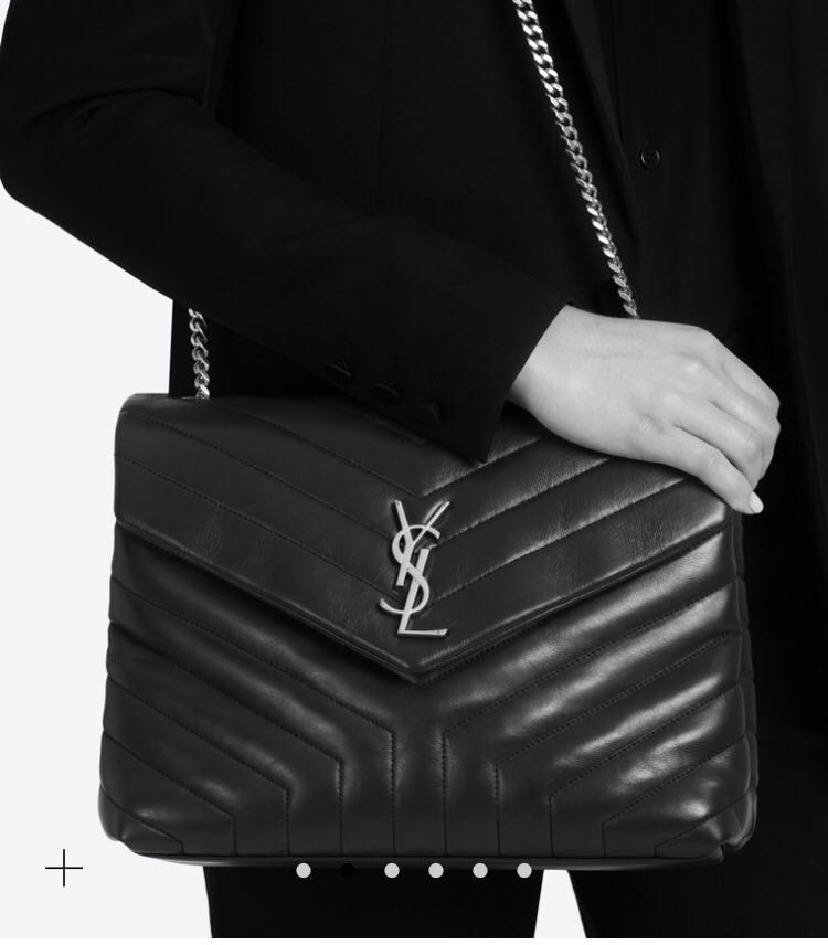 ca6e3179fb8 Saint Laurent YSL Loulou Medium in black hardware, Luxury, Bags ...