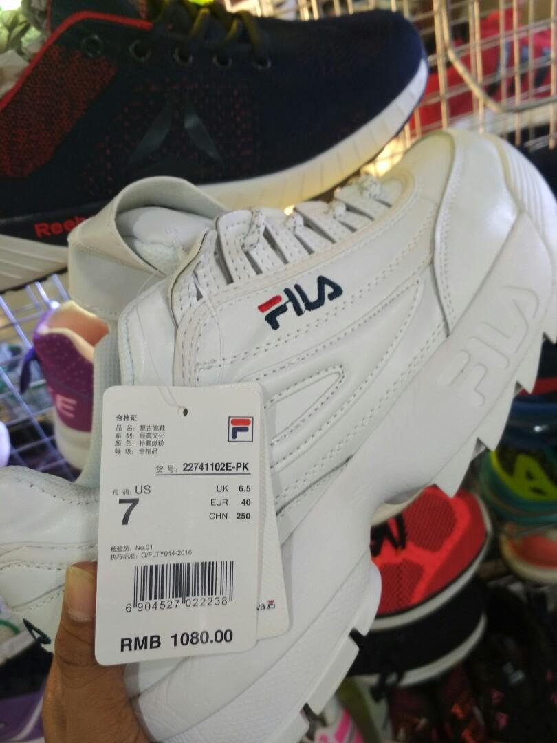Sepatu fila import premium nyaa, Women's Fashion, Women's Shoes on Carousell