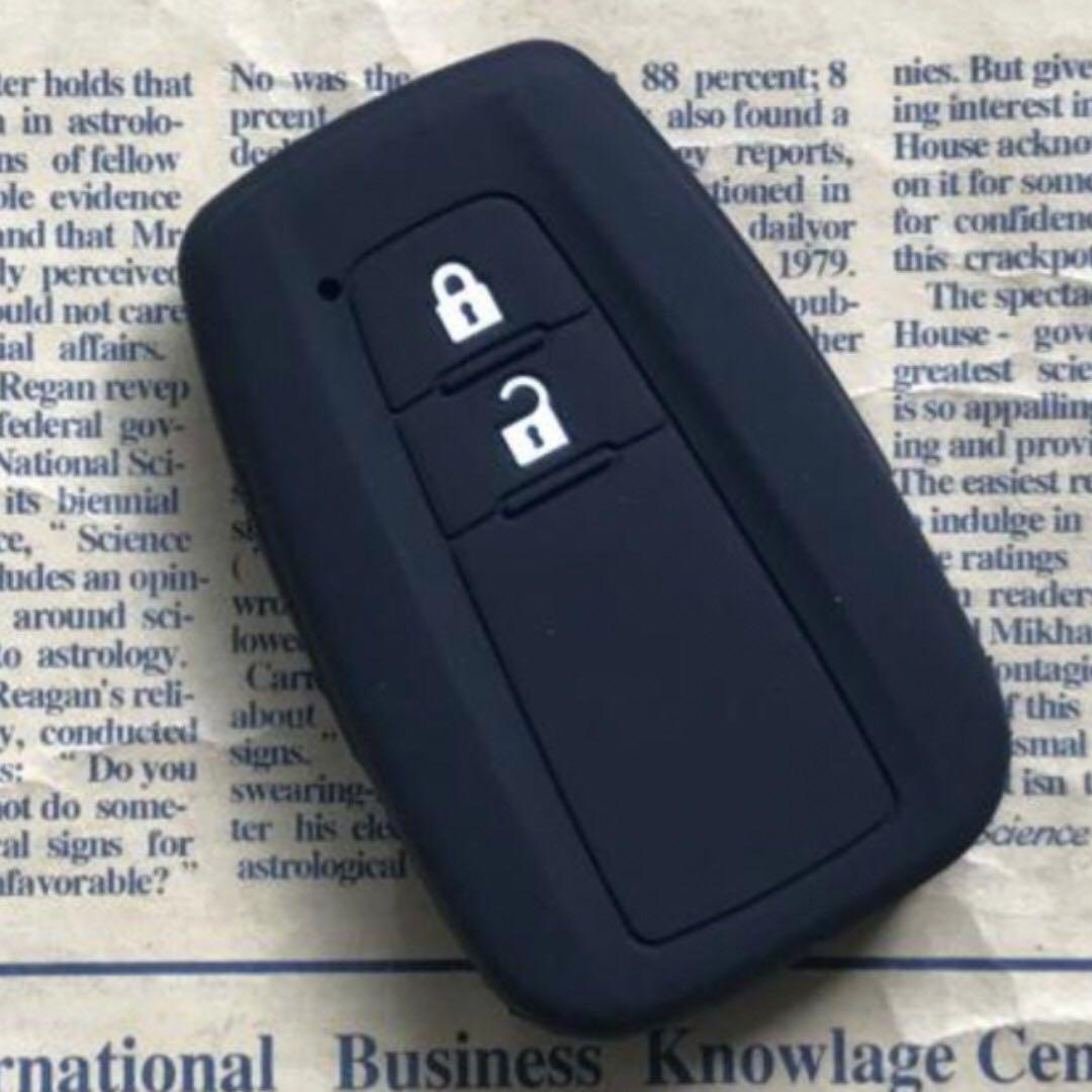 Silicon Casing For Toyota CHR Prius Two buttons Key Fob