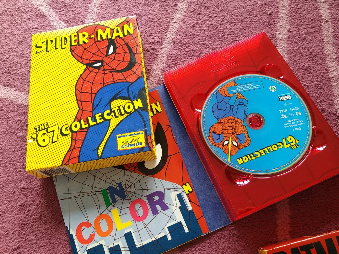 Spiderman 67 DVD collection, Music & Media, CDs, DVDs & Other ...