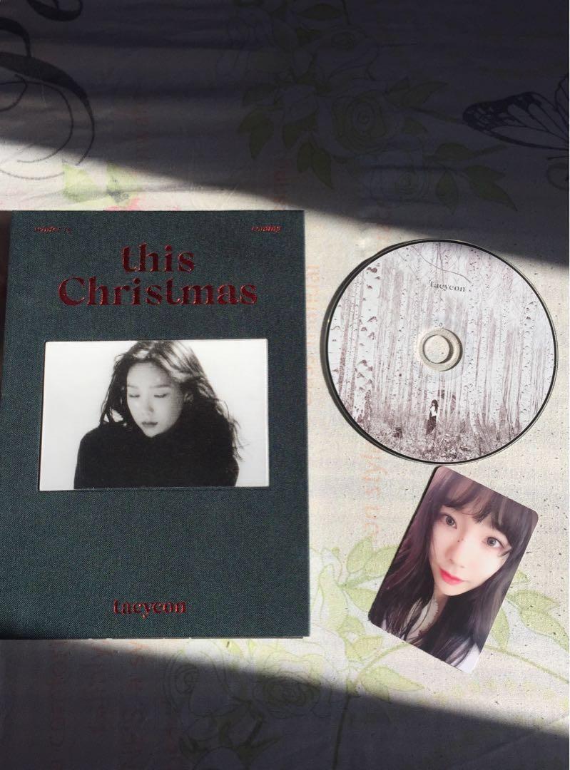 Taeyeon this Christmas album, K-Wave on Carousell