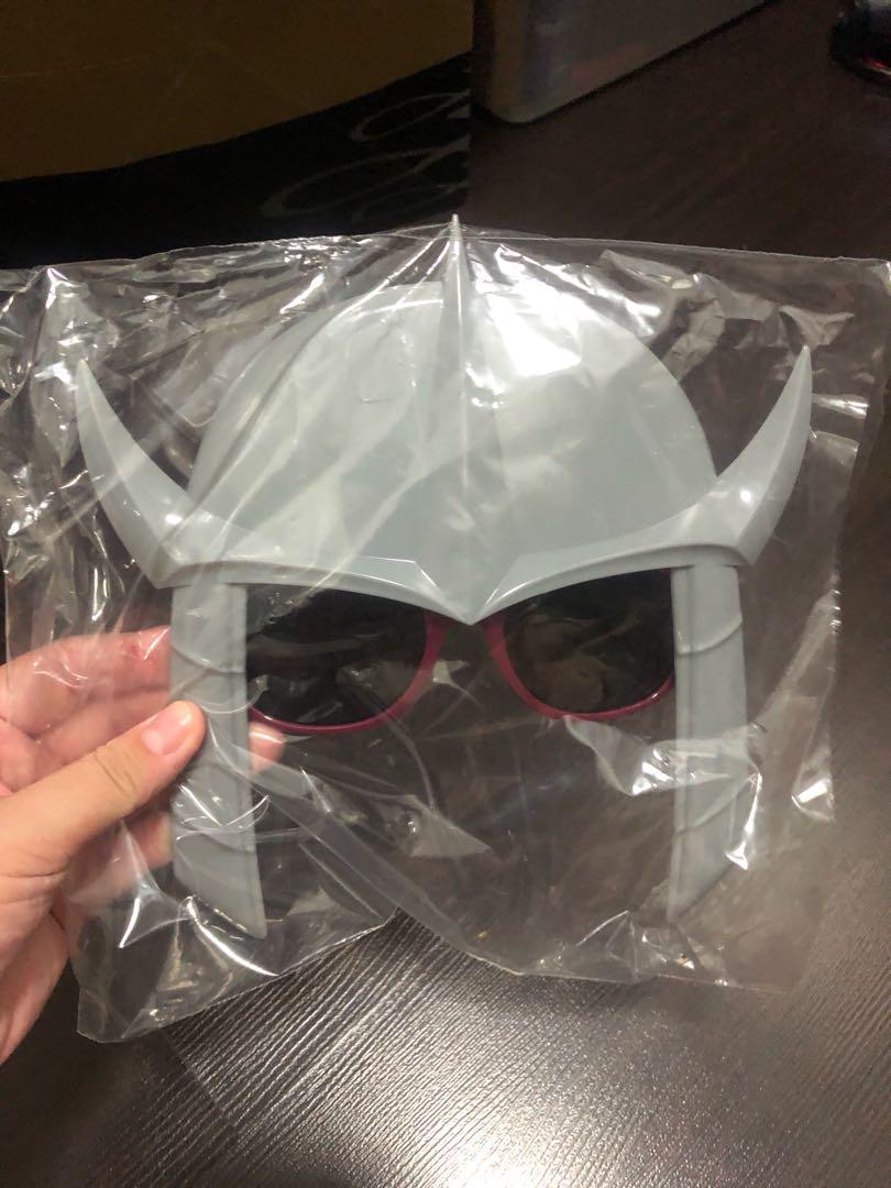 TMNT Shredder Helmet Sunglasses Loot Crate Exclusive