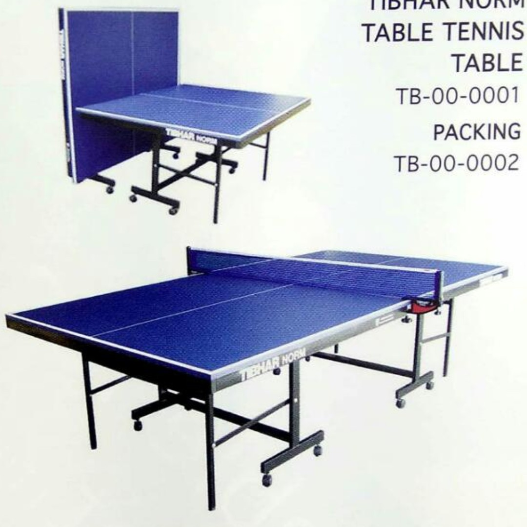 TIBHAR Table Tennis   Ping Pong Table, Sports, Other on Carousell 833007efeae5