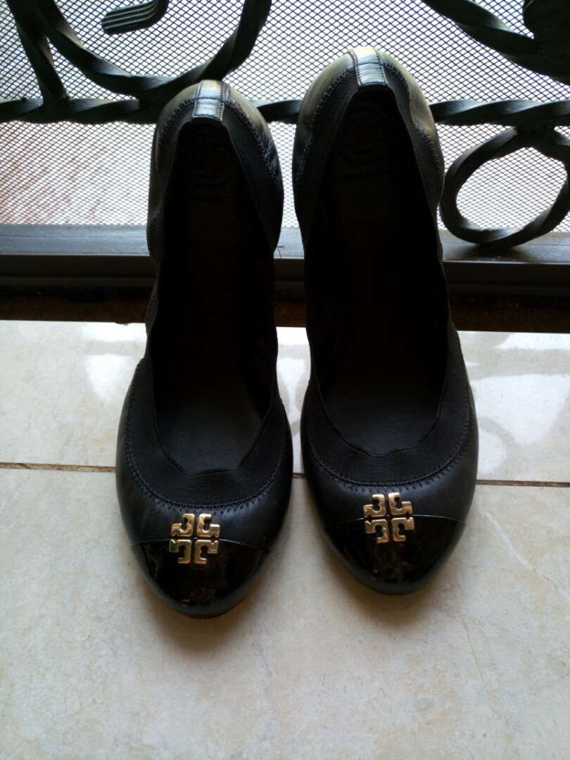 056ec470d47 Authentic Tory Burch Liana Ballet Flat Shoes