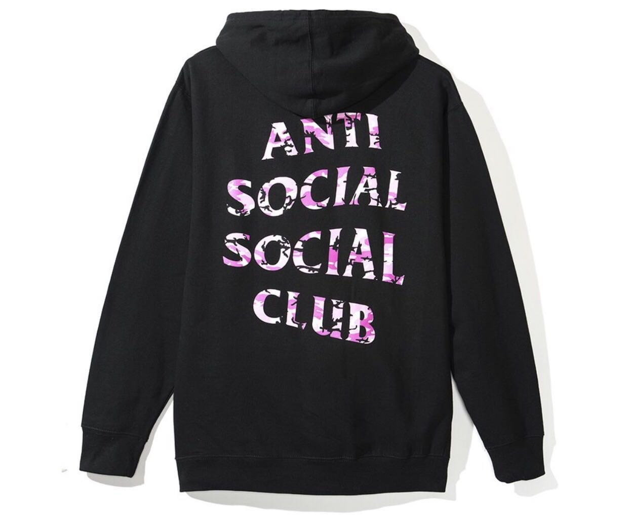 6fed7dfaa02f Undefeated Anti Social Social Club Hoodie Black