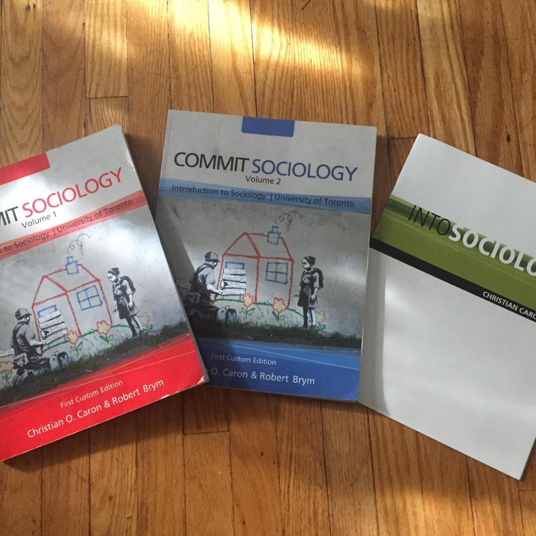 UOFT SCHOOL TEXTBOOKS SOC101, HIS106, PHL271, ENG140