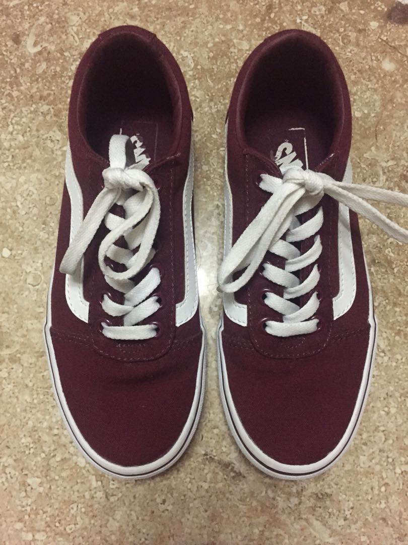 fa74b6051e Vans Old Skool (Burgundy)