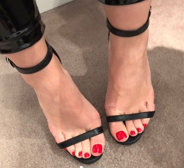 fe80d0228f Womens saint laurent black leather jane ankle strap sandals barely jpg  621x568 There stiletto