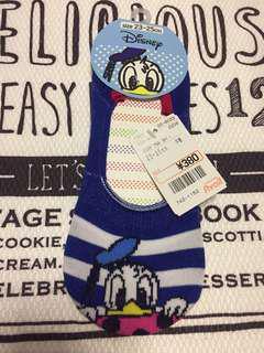 超平 迪士尼 Disney Donald Duck 唐老鴨 船襪 23-25 cm
