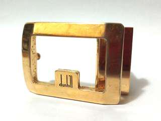 Dunhill belt buckle