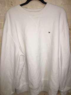 TOMMY white sweat shirt