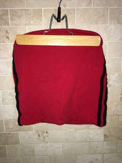 BRANDY red tube top