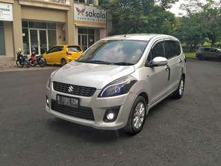 Suzuki Ertiga GX 2012MT Silver Low km Top Condition Siap Di Gas
