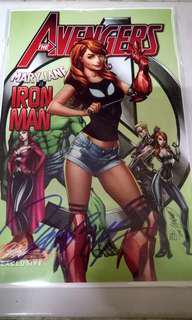 MARVEL COMICS THE AVENGERS #8 JSC COVER C VARIANT MARY JANE IS IRON MAN