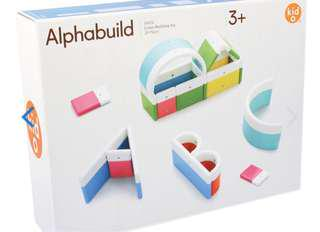 2-4Y NEW KidO Alphabuild Magnetic Toy