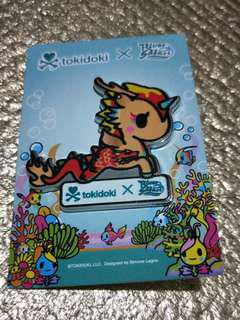 Tokidoki collectible pin