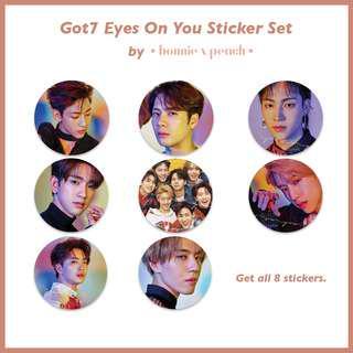 Got7 Eyes On You Sticker Set