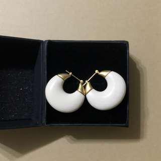🚚 半月造型 民俗風 耳針 耳環
