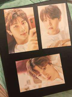 [WTS] BTS Exhibition 2018 Postcard Set A