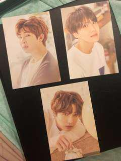 [WTS] BTS Exhibition 2018 Postcard Set B