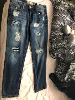 Ladies Boyfriend Jeans